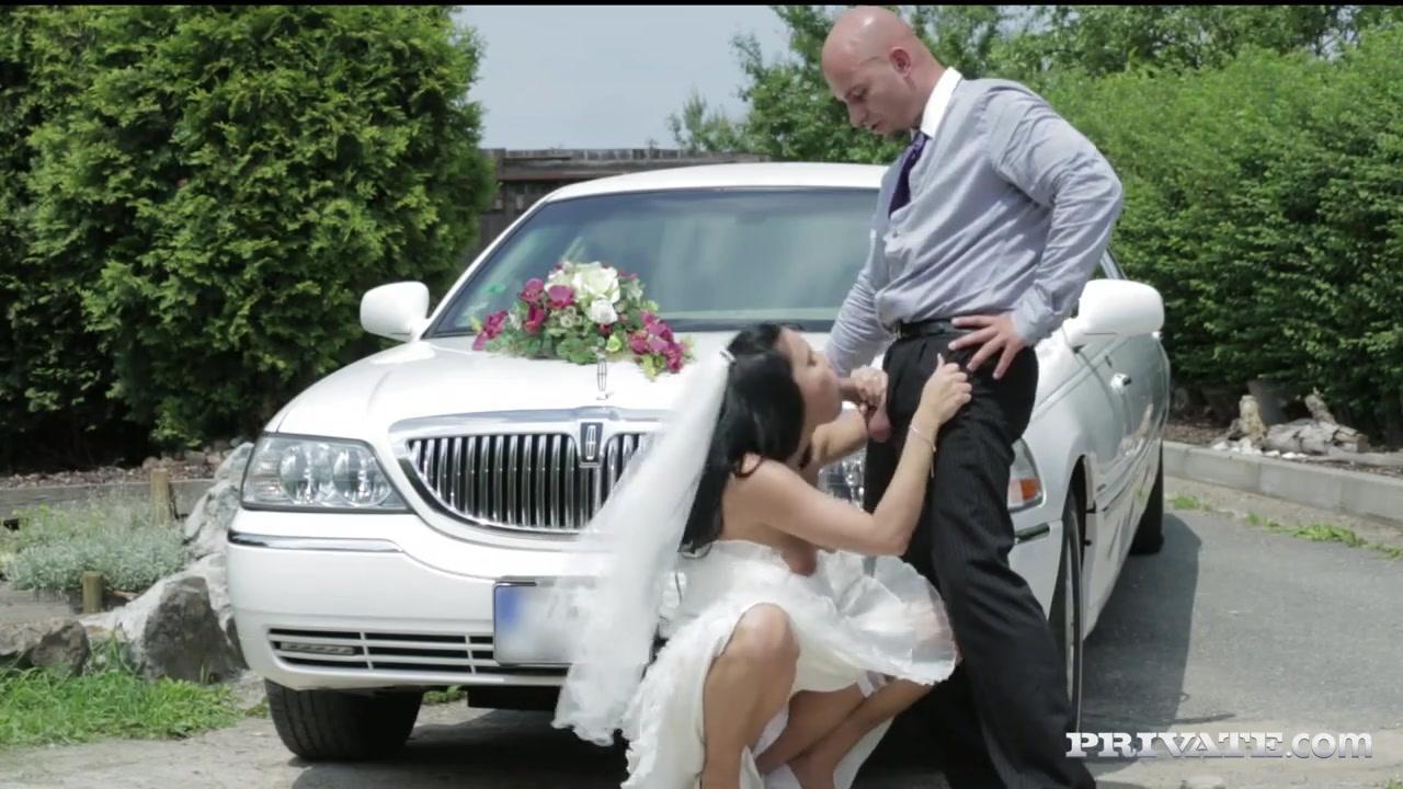 невеста дает незнакомцу